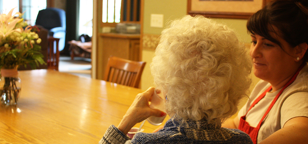 Caregivers provide one-on-one attention